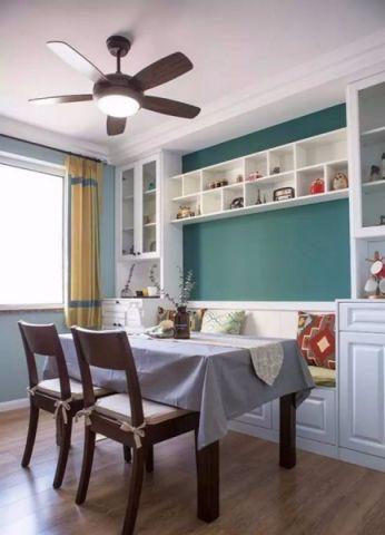 餐厅窗帘美式风格装饰设计图片
