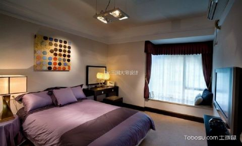 卧室飘窗现代风格装潢效果图