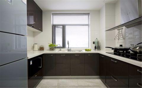 厨房窗帘简约风格装潢效果图