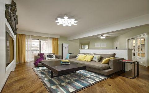 7.5万预算96平米两室两厅装修效果图