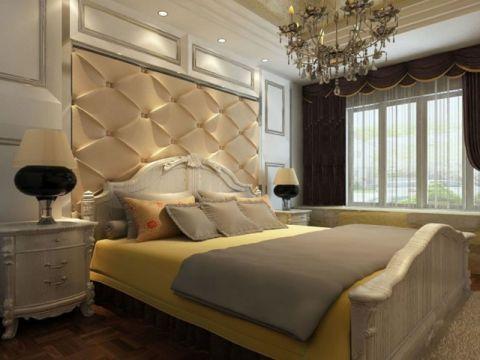 卧室床头柜现代风格装修图片