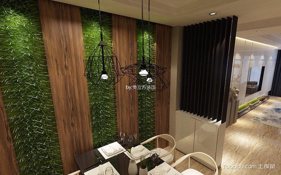 餐厅咖啡色细节现代风格装潢图片