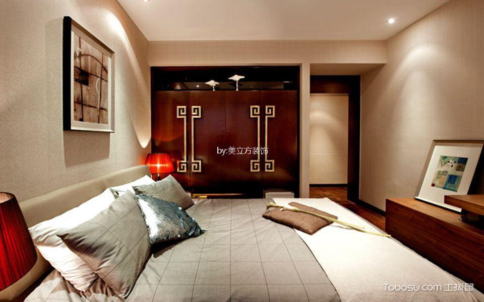 卧室白色细节现代风格装饰图片