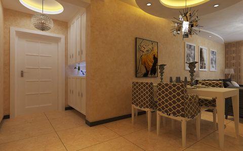 餐厅背景墙现代风格效果图