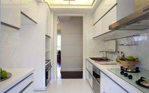 厨房背景墙现代简约风格装修图片