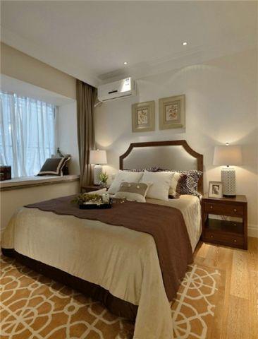 卧室窗台现代风格装饰设计图片