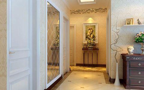 玄关背景墙欧式风格装修图片