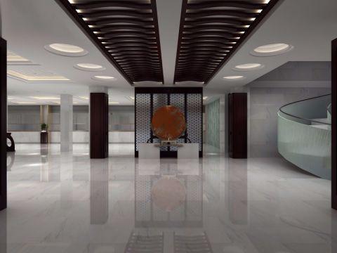 70万河南省中医药研究院办公室装修效果图