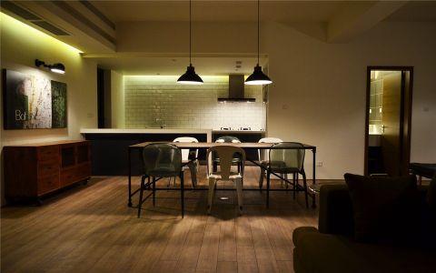 餐厅吊顶现代简约风格装饰图片