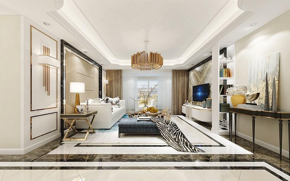 4室2卫2厅146平米现代简约风格