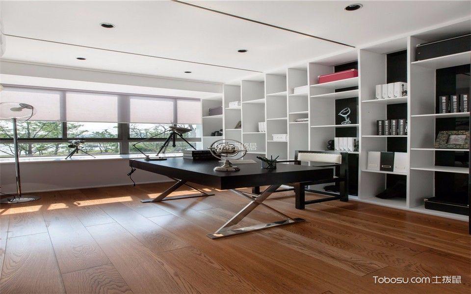 龙涛香榭丽园126平方现代简约风格小户型装修效果图