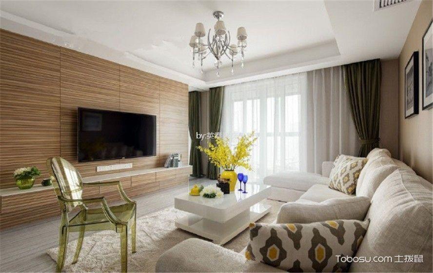 2021韩式110平米装修图片 2021韩式套房设计图片
