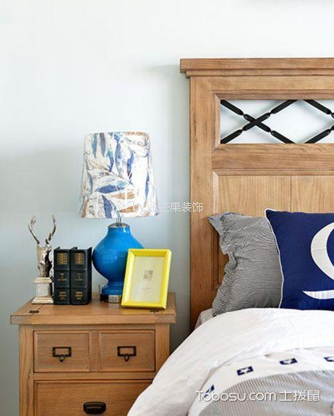 卧室咖啡色细节混搭风格装潢效果图