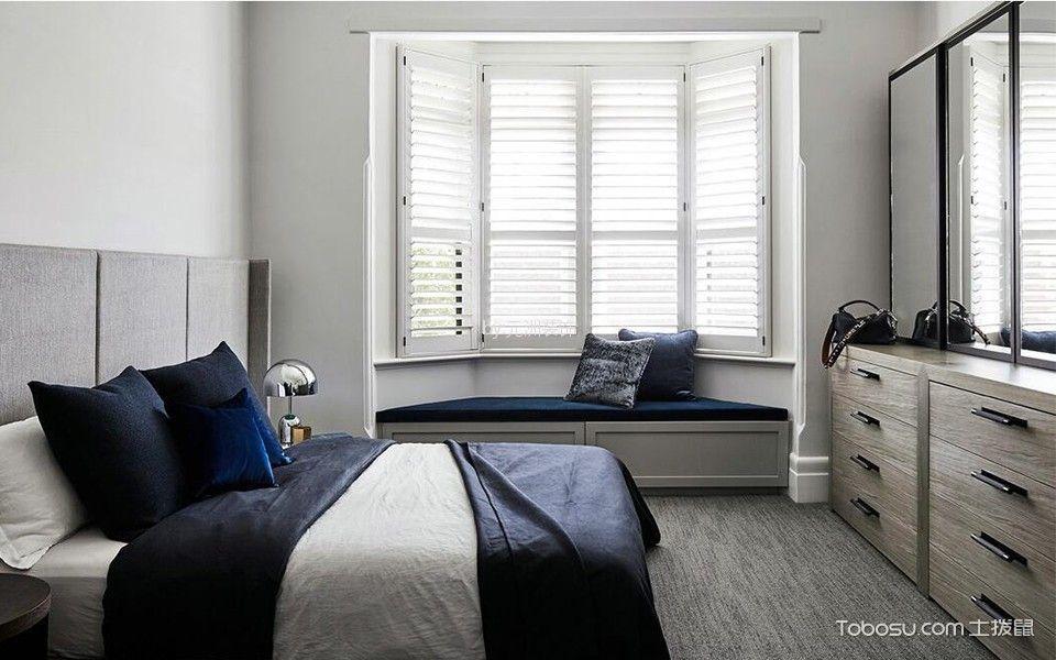 卧室彩色细节现代风格装修设计图片