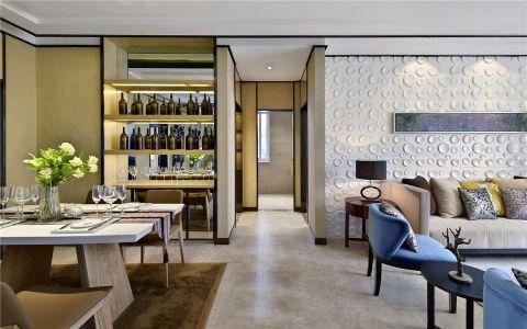 客厅走廊现代简约风格装潢设计图片