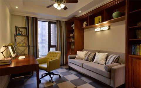 书房窗台现代简约风格装修图片
