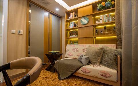 书房沙发现代简约风格装修效果图