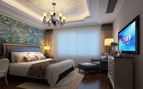 卧室细节田园风格装修设计图片