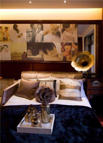 客厅照片墙后现代风格装饰设计图片