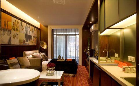 卧室窗帘后现代风格效果图