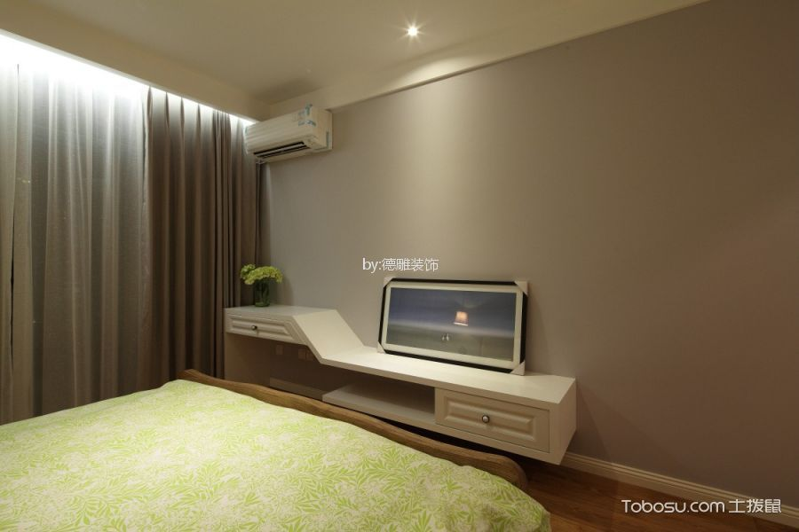 卧室米色细节美式风格装修效果图