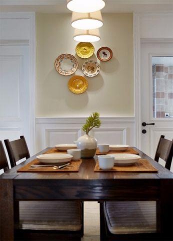 餐厅细节美式风格装潢效果图