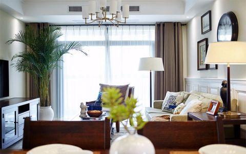 客厅细节美式风格装修图片