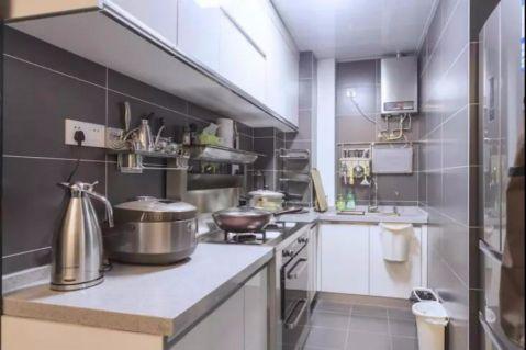 厨房走廊简约风格装修设计图片