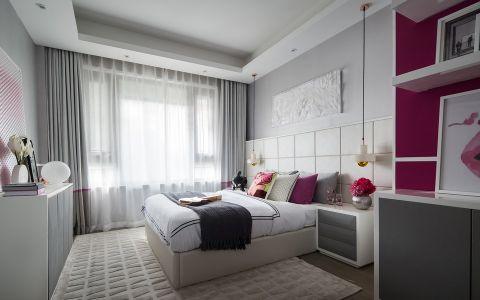 卧室窗帘简约风格装修效果图