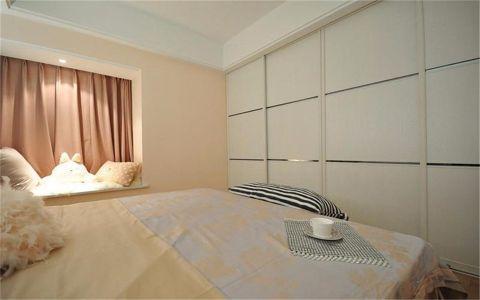 卧室吊顶现代简约风格效果图