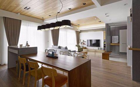 保利公园九里96平两室一厅一厨一卫现代简约效果图