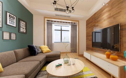 香开天地120平现代简约风格三居室装修效果图