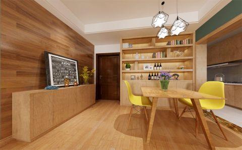 餐厅橱柜现代简约风格装修图片