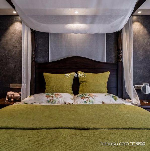 卧室灰色细节现代简约风格装饰图片