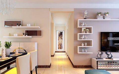 玄关走廊简约风格装潢效果图