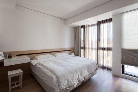 卧室窗台现代简约风格装饰效果图