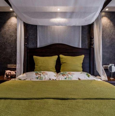 卧室细节现代简约风格装饰图片