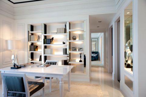 书房细节现代风格装潢效果图
