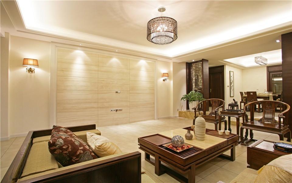 4室3卫2厅136平米中式风格