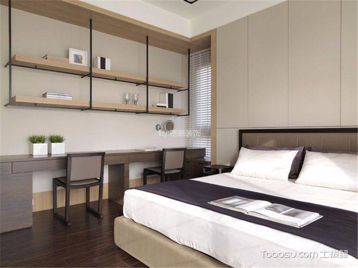 卧室米色细节现代风格装潢设计图片