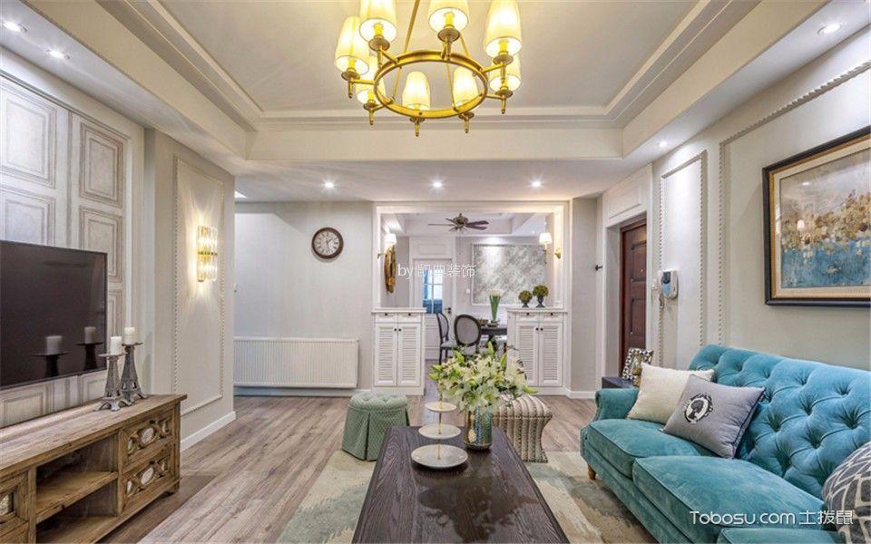 金域中央街区136平米现代风格三居室装修效果图