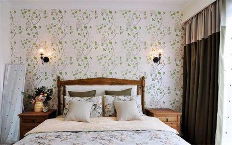 卧室榻榻米美式风格装修效果图