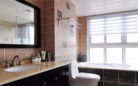 卫生间飘窗美式风格装潢效果图