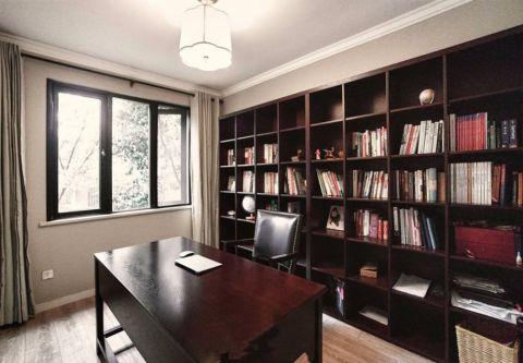 书房窗台中式风格装潢设计图片