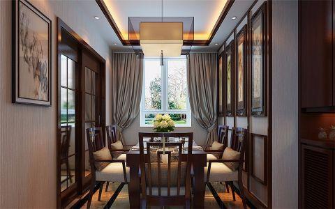 餐厅隐形门中式风格效果图