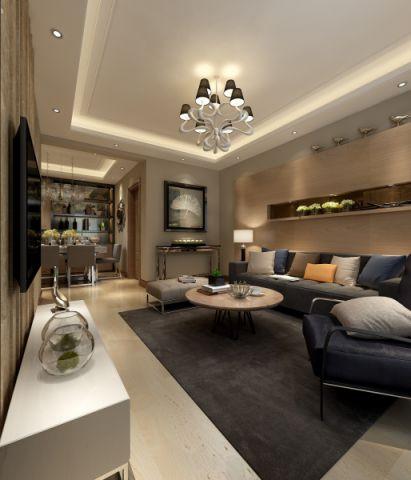 客厅门厅后现代风格效果图