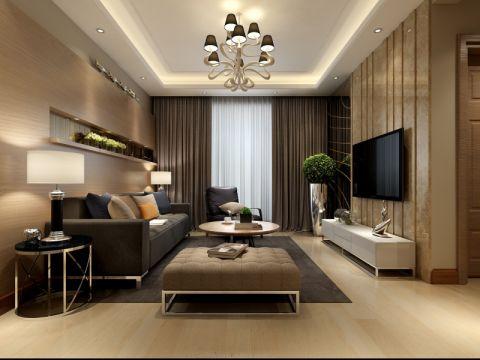 客厅细节后现代风格装潢效果图