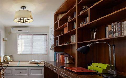 书房榻榻米北欧风格装修效果图