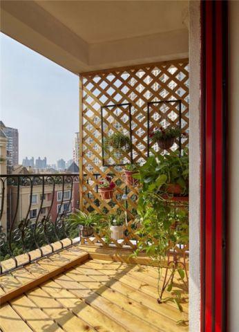 阳台细节北欧风格装潢效果图