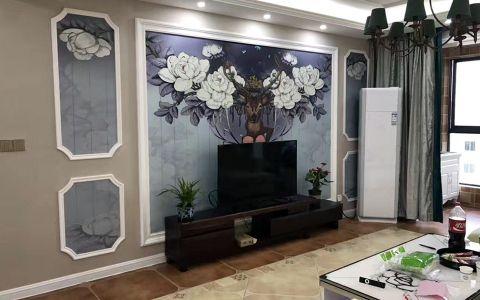 天长长泰景湖一品146平混搭风格四居室装修效果图